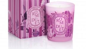 diptyque- Bougie Rose Duet + boite